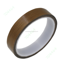 Wholesale brown woven withstand high temperatures TEFLON Tapes for heat sealing machine
