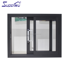 Modern Design Aluminum single glass Sliding Door Made In China