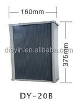 20W DY-B Series Grey color Aluminium alloy Pillar speaker for public address systems