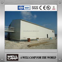 Hot sale product Double floor prefab home for labor camp