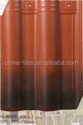 best price decorative curved building materials lightweight ceramic roof tile