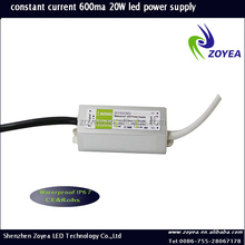 Wholesell waterproof ip67 90-265v ac 30-36v dc led driver,10w 20w 30w 50w 80w 100w constant current led power supply