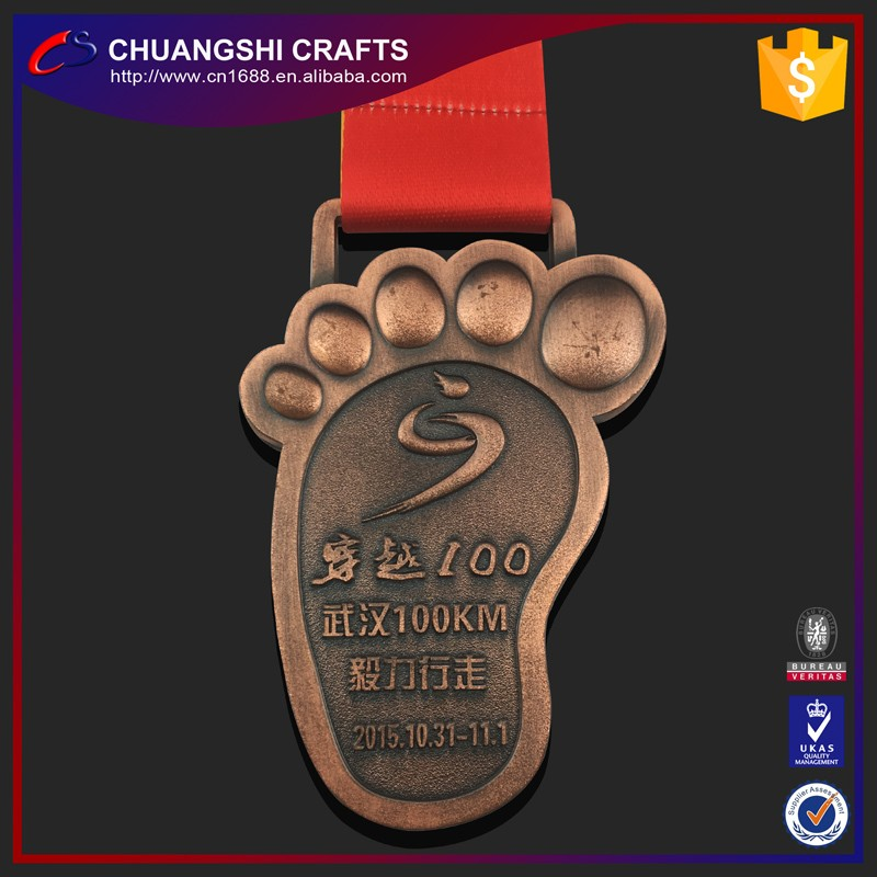 2017 Low price high quality antique custom sports medal