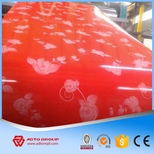 high quality Ral color coated galvanized steel coil with custom picture