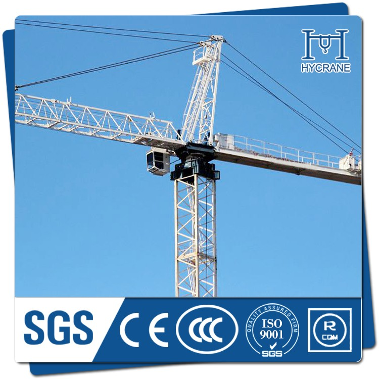 4T QTZ63(5010) Used Fixed Tower Crane With Motor In Dubai