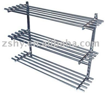 shelf-stainless pipe