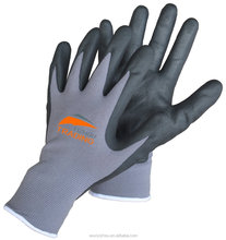 Nitrile coated safety glove