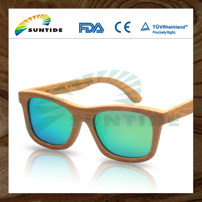 Handcrafted Wood Bamboo Sunglasses (ZA03)