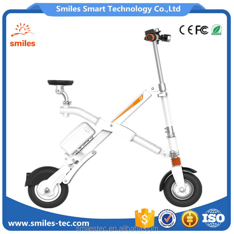 Foldable Intelligent Electric Bikes/E Bicycle With App Interconnection