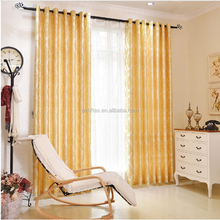 Pair Pencil Pleat Fully Lined Glittery Jacquard ready made curtain