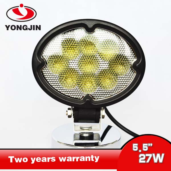 Spot Flood Work Light Off Road Spotlight 4x4 Jeep, Boat, 4WD, SUV, Truck Tractor, Car, ATV, UTV 27w LED Work Lamp