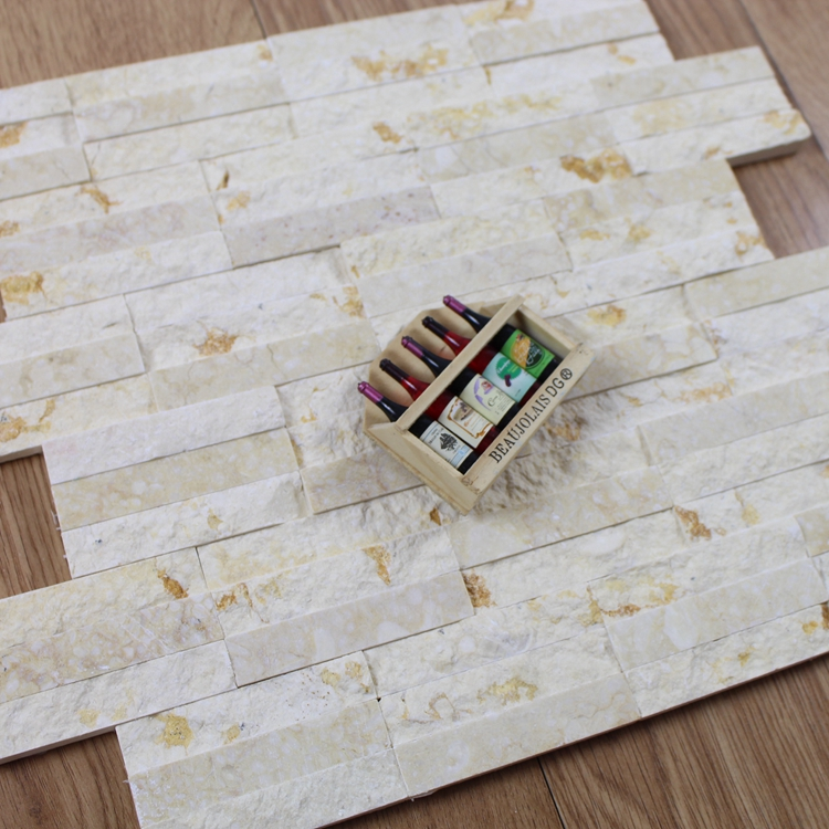 Decorstone24 Natural Stone Strip Split Design Mosaic Tile Panel For Wall Decorative