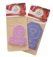 China Supplier High Quality Hanging Paper Car Air Freshener