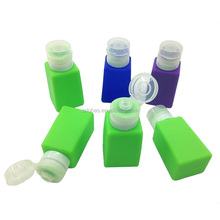Wholesale Custom Silicone Travel Set Portable Refillable Bottles