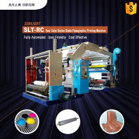 SLT-RC doctor blade six colors paper roll flexo printing machine manufacturers