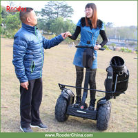 electric chariot Rooder electrical scooter w6+ personal transporter , stand up two wheel vehicle