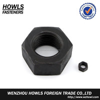 Mild steel high tensile strength class8 class 10 grade/gr8/10 big size DIN934 hex nut M30 M33 M36 M39 M42 M45 M48 M52 M56 M64