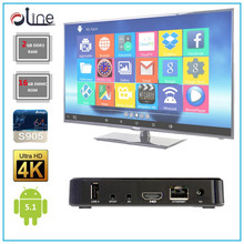 Amlogic S905 2GB DDR3 RAM 16GB EMMC ROM 1000M Ethernet KODI 16.1 h96 plus set top box Cost-effective android touchscreen ttv box