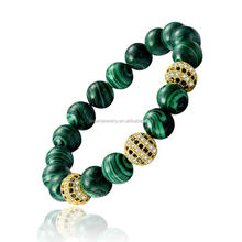 2016 New Shamballa Beads Gemstones Beads Bracelet