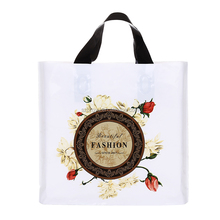Cheap custom made Clothes Carry Plastic bags shopping Bag with your own logo