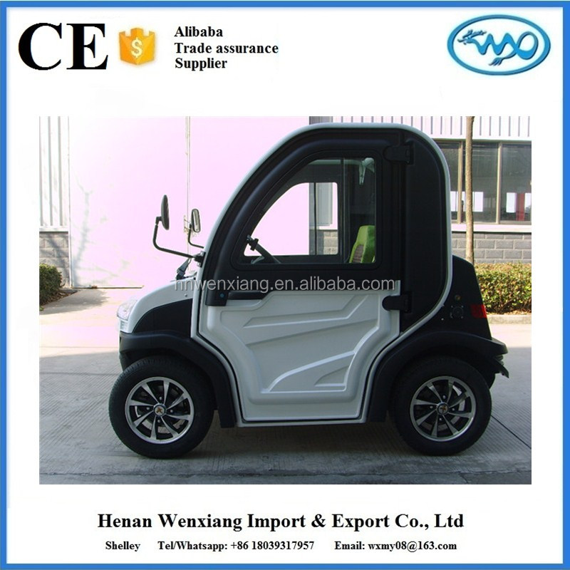 China supplier alibaba china electric vehicle 2 seat small cars
