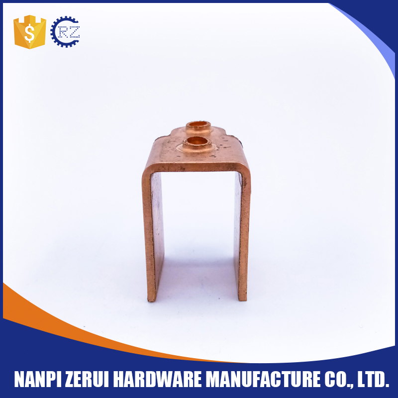 small electronic components brass hardware car body stamping parts