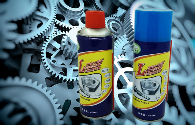 Rust remover spray lubricant Derusting spray lubricating grease