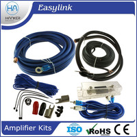 4 GA SPEAKERS car amplifier wiring kit