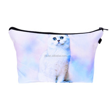 Eco-friendly ODM Srevice cosmetic bag for sublimation