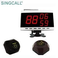 SINGCALL digital paging restaurant waiter call devices guest pager system