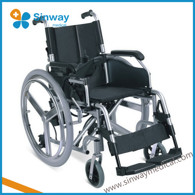 New foldable and portable automatic electric wheelchair
