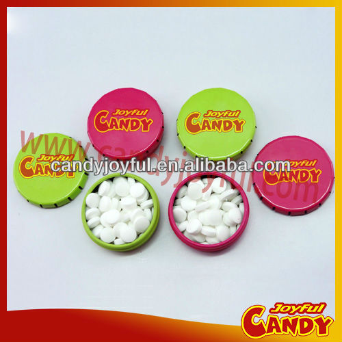 Tin box mints with logo