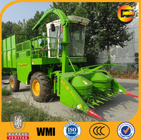 corn straw chopper smashing machine maize silage harvester for cows farm