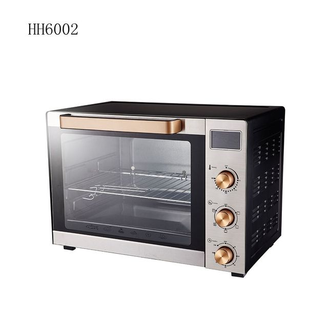 China best adjustable temperature matel 60L oven
