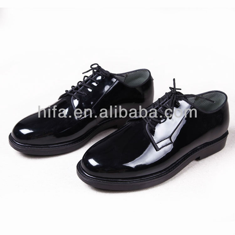 Military office leather men shoes business casual shoes