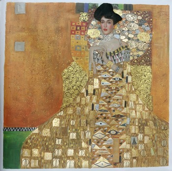 Adele Bloch-Bauer I by Gustav Klimt u2art Handmade oil painting sample