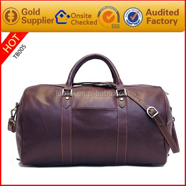 Excellent quality popular 100% genuine leather travel camera bag