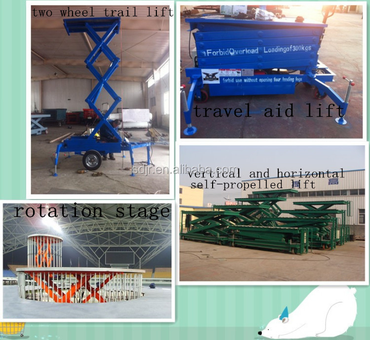 HOT SALE !hydraulic folding arm aerial operation lift work platform
