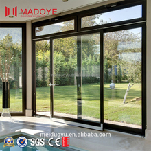 China Manufacturer Balcony Sliding Glass Door AS2047 Metal-Plastic Partitions with Tempered Glass