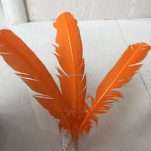 best selling dyed turkey feather for craft