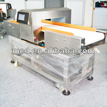 Magnetic Induction Detection Food Metal Detector MCD-F500QD Flap system auto conveyor belt scanner
