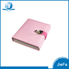 PU Cover Cute Diary With Lock