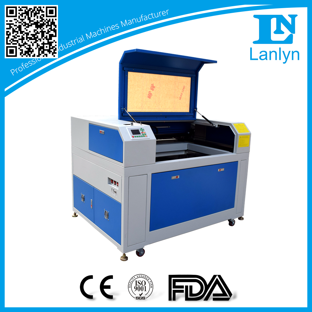 LN-ELP9060 compact electric lifting platform 9060 laser cutting/engraving machine on curve surfaces