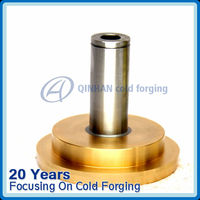 High voltage switch parts electrical brass piston