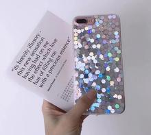 2018 New Arrival Hybrid Shockproof Luxury Bling Glitter Mobile Phone Case For iPhone X case