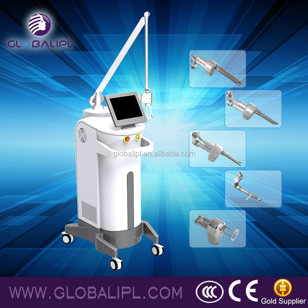 Globalipl-Super Scar removal/ablative co2 laser machine for face resurfacing