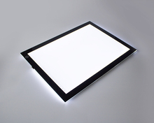 A4 5mm Super Thin LED Light Box Tracing Board Art Design Stencil Drawing Copy Pad with USB Power