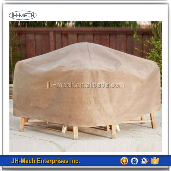 Waterproof PE outdoor furniture cover for European market