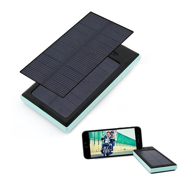 Universal dual USB External Travel power pack solar charger for mobile phone,iPad,Tablet