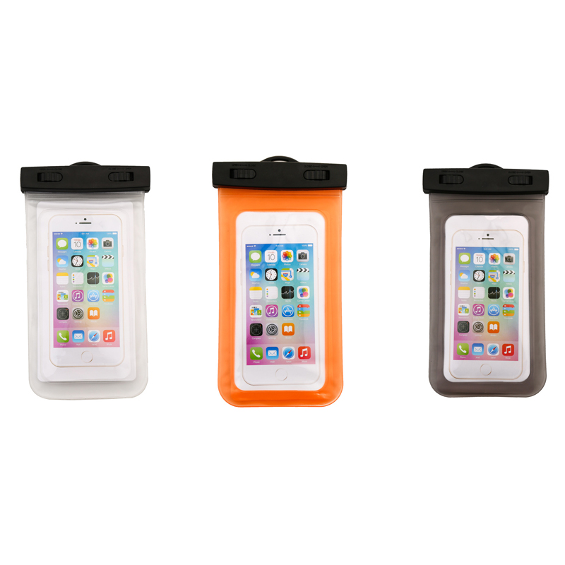 Universal Waterproof Cell Phone Case PVC Nylon Phone Cover for iPhone5 5s 6 7 8 plus X